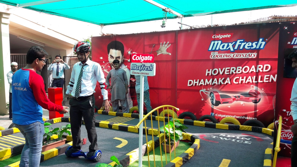 Colgate Max Fresh Promotional Activity