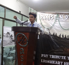 Best Debater of the Pakistan Defence Day