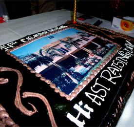 Cake of The 14th HiAST Raising Day